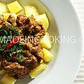 Poulet au curry masala