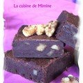 Brownie, for chocolat addicts only !