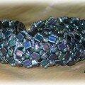 ENDLESS HERRINGBONE STITCH blue