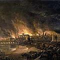 Londres, les crimes de la maladie et du feu