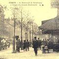 Le boulevard de strasbourg au début du 20ème