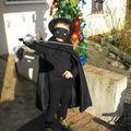 Zorro au carnaval de chalon-sur-saône