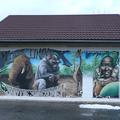 Versonnex ain peinture murale