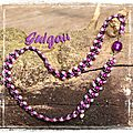 Collier Autumn Leaves violet_fuchsia