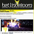Dés jeudi 23 juillet 2015 jusqu au dimanche 26 juillet 2015 le festival het lideboom revient sur le devant de la scéne