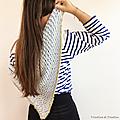<b>BONNE</b> <b>ADRESSE</b> TUTO : L'écharpe au crochet de Caro Tricote