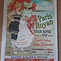 Chemins de fer de l'état Paris Royan