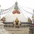 <b>Kathmandou</b> sous la pluie et à pattes.