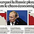 Krach monétaire en russie