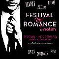 Festival new romance 30/09 et 01 et 02/10/2016 à bandol
