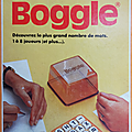 Jeu ... boggle (1978) * jeu de lettres