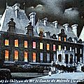 TRELON-Château la nuit