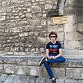 Banc à degrés (Arles, mai 2014)