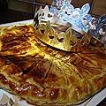 Galette des rois cerises amande lemon-curd