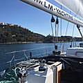 De Klimno (Krk) à Opatija - Croisières d'entraînement - 11 mars 2020 - Training cruise, from Klimno (Krk) to Opatija