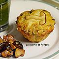 Muffin aux <b>champignons</b> des bois