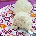 Merveilleux chocolat blanc et cardamome