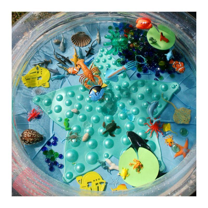 En avant premi re piscine sensorielle sur l 39 oc an - Plafond salaire assistante maternelle ...