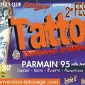 Convention Tattoo Parmain 15&16/09/2007