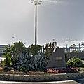 Rond-point à Las Palmas (Espagne)