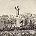 15 août 1843, la première statue de napoléon en vendée