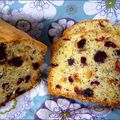 Cake cardamome cranberries pavot et orange confite