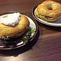 Bagel's chèvre + saumon
