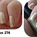 Kiko - gold microglitter