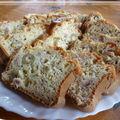 Cake lardons olives