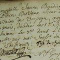 Boudier Janne_Acte Décès 1744