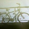 Vélo, reflet, canal de l'Ourcq_4813