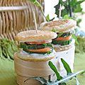 Mini-hamburgers végétariens