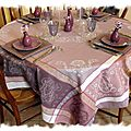 table violette