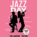 Le <b>Jazz</b> Day 2019 : du <b>Jazz</b> toute la journée dans la région lyonnaise!