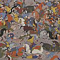 One of the finest 16th-century illustrated <b>Persian</b> manuscripts in the US featured in exhibition