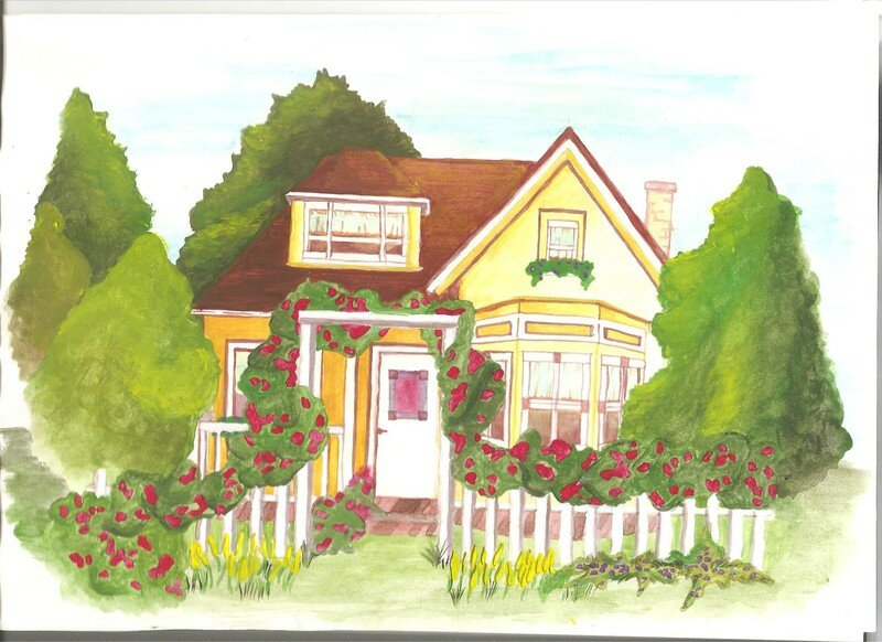 La Petite Maison Dans La Prairie  Fais Moi Un Dessin