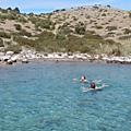 Croisière en voilier de Vodice à Opatija AR. Vidéo de la baignade au sud de Dugi Otok, après le <b>Prolaz</b> Mala <b>Proversa</b>, 15 avril