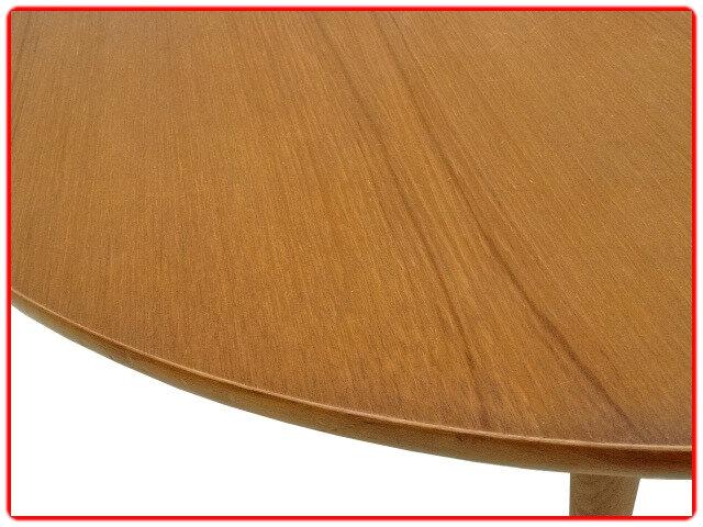 Table vintage teck 1970