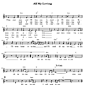 All My Loving (Partition - Sheet Music)