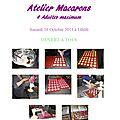 <b>Atelier</b> <b>Macarons</b> : Samedi 19 Octobre 2013 à 14h00