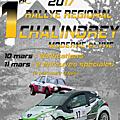 1er rallye régional de chalindrey