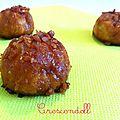 • breizhettes (ou chouquettes aux éclats caramel au beurre salé) •