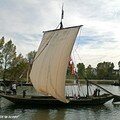 Chaland typique de la Loire à Orléans