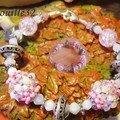 Virginia rose et quartz rose