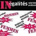 Brochure: Les INégalités <b>professionnelles</b> et <b>salariales</b>