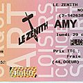 Amy Winehouse - Lundi 29 Octobre 2007 - <b>Zénith</b> (Paris)