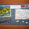 nègre christine concours art postal fête du fil 2012
