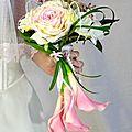 Bouquet de mariée romantique