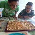 Mega tarte aux pommes