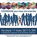 Conférence sur l'autisme